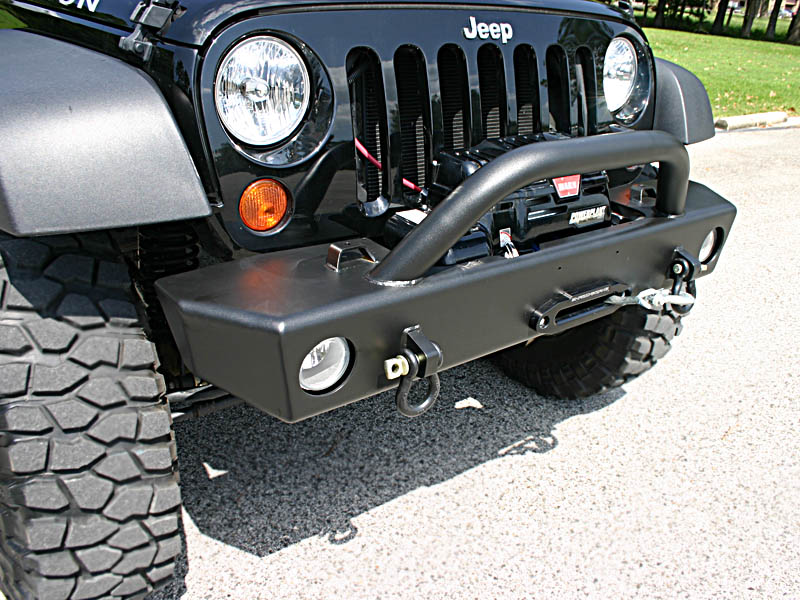 Wrangler Jeep Inside >> The New Shrockworks Mid-Width Front Bumper is Here!! - Page 7