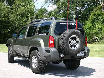 Xterra Rear Bumper & Tire Rack (2005-2013)