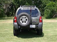 2005-2017 Xterra Tire Rack