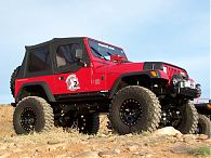 Jeep YJ Rock Sliders, Rocker Guards, Rocker Protection, Rock Rails