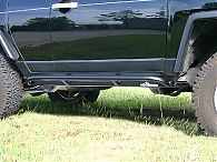 FJ Cruiser Rock Sliders