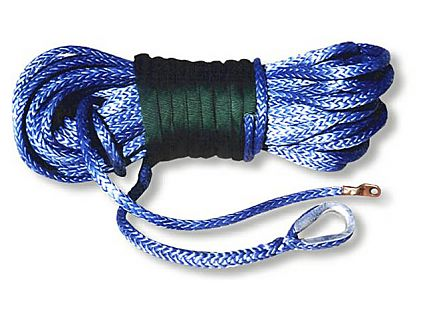 Synthetic Winch Rope - Amsteel Blue - 5/16