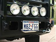 Flip Up License Plate Mount