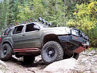 Xterra Rock Sliders, 1st Gen (2000-2004)