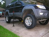4th Gen Toyota 4Runner Rock Sliders 2003-2009