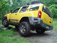 Xterra Rock Sliders, 2nd Gen (2005-2015)