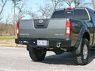 Frontier Rear Bumper, 2nd Gen 2005-2016