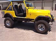 Jeep CJ-7 & Scrambler Sliders