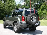 Xterra Rear Bumper & Tire Rack, 2005-2015