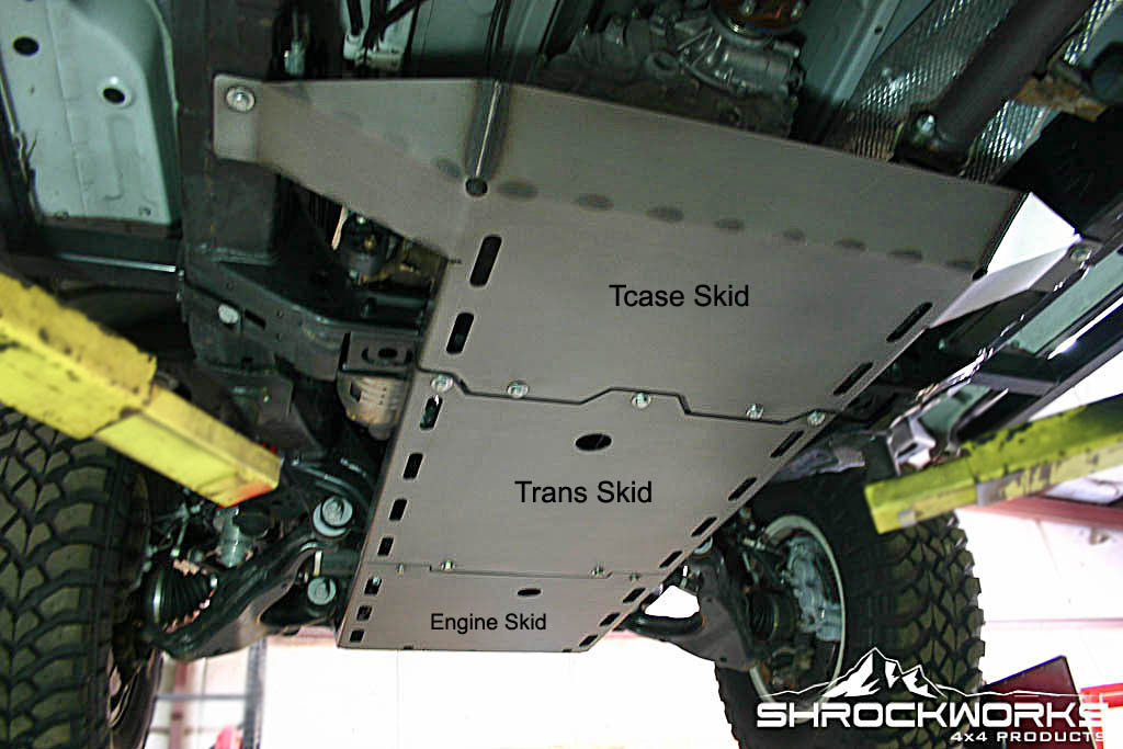New Product 2003 2009 4runner Skid Plates Toyota