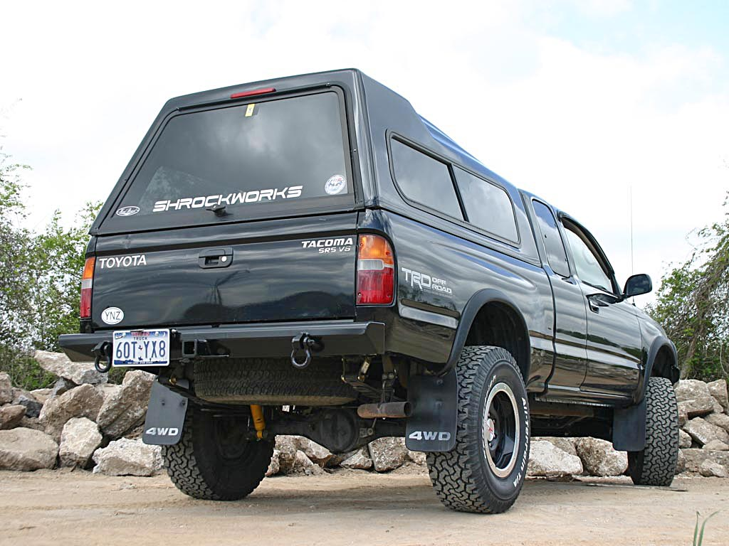 New Rear Bumper For Toyota Tacoma 1995-2004