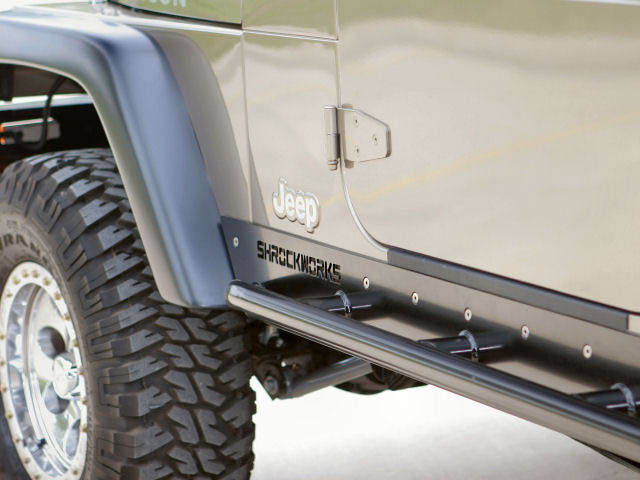 Jeep Unlimited Rock Sliders Rocker Guards Rocker