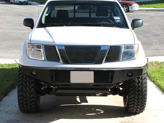 2005-2019 Frontier Front Bumper, 2nd Generation