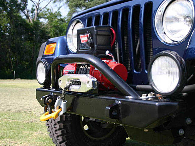 Winch For Jeep >> Jeep Winch Bumpers Jk Tj Yj Front Bumpers