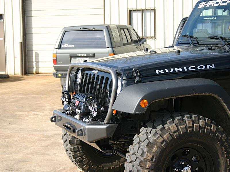 Best Bumper For Jeep Jk : Jeep jk winch bumper front