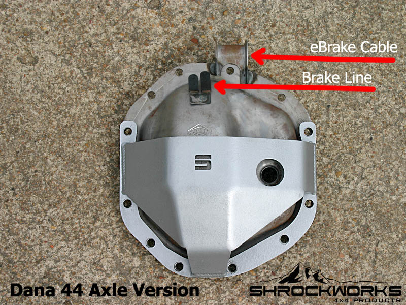 Differential Cover - Diff Cover - Diff Protection Skid - 05+