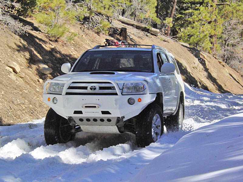 Front Winch Mount Bumper For 4th Generation 4runner 2003 2009