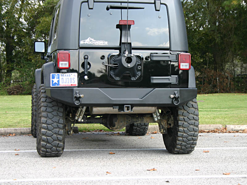 Jeep Wrangler Jk >> Jeep JK Rear Bumper