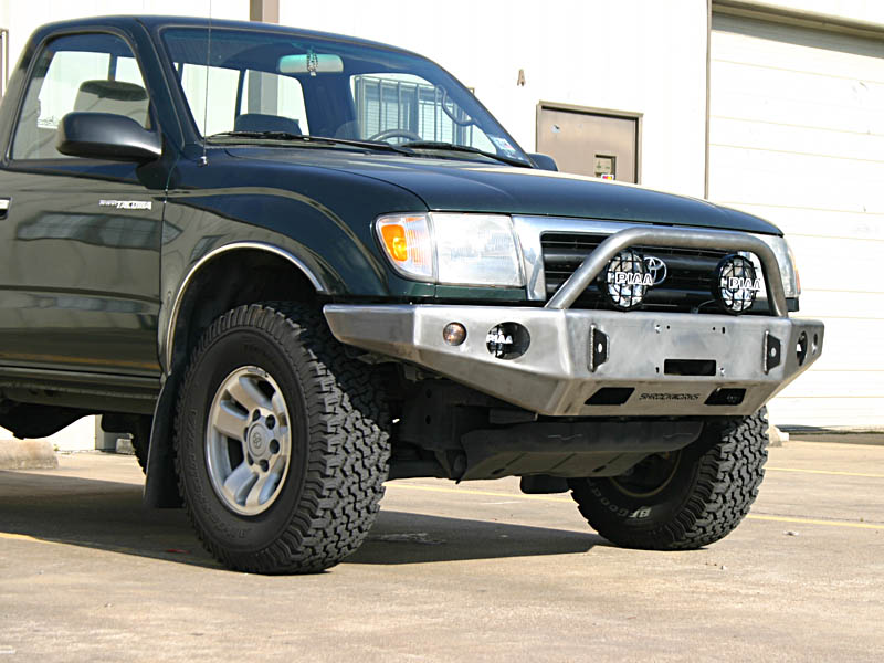 Front Winch Mount Bumper For 3rd Generation Tacoma 1995 2004