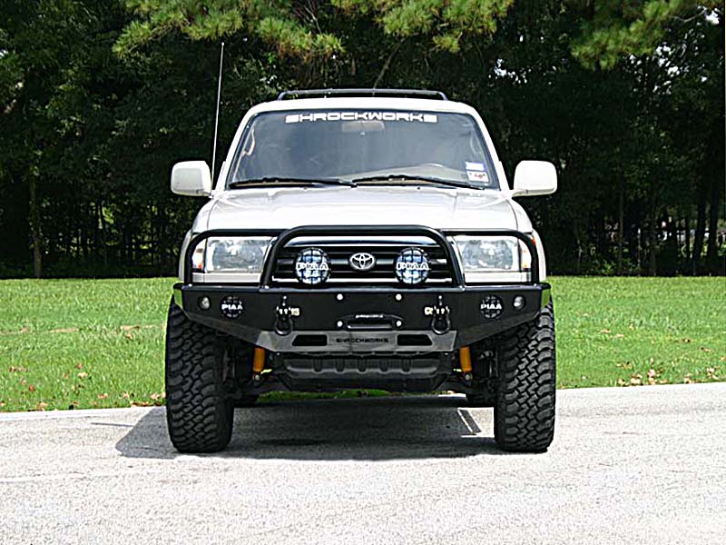 Front Winch Mount Bumper for 3rd Generation Tacoma, 1995-2004