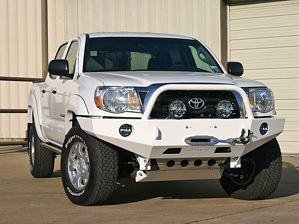 Front Winch Mount Bumper For 4th Generation Tacoma 2005 2014