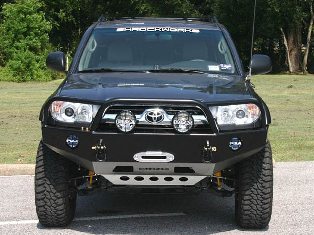 Pin Aluminum Flatbed Brush Truck On Pinterest Front Winch Mount Bumper for 4th Generation Tacoma, 2005-2014