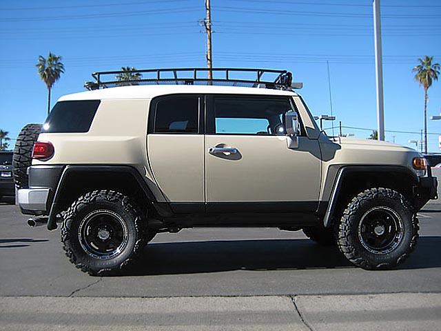 Fj Cruiser Roof Racks : Toyota fj cargo box