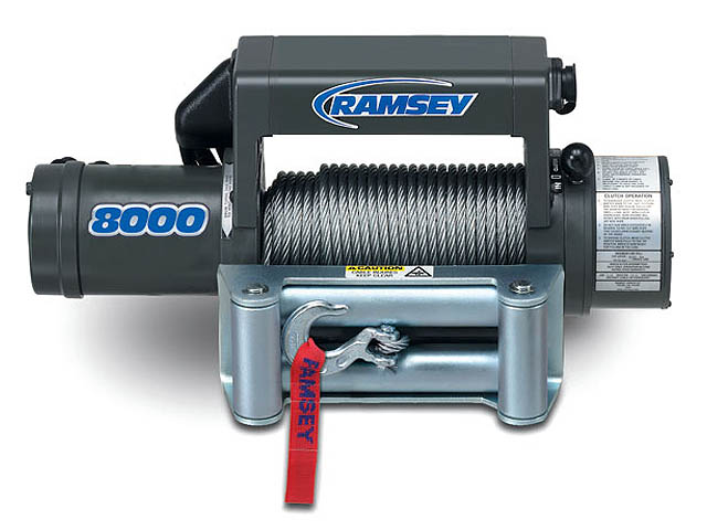 ramsey winch winches com the ramsey winch patriot 8000 is for the serious off road enthusiast