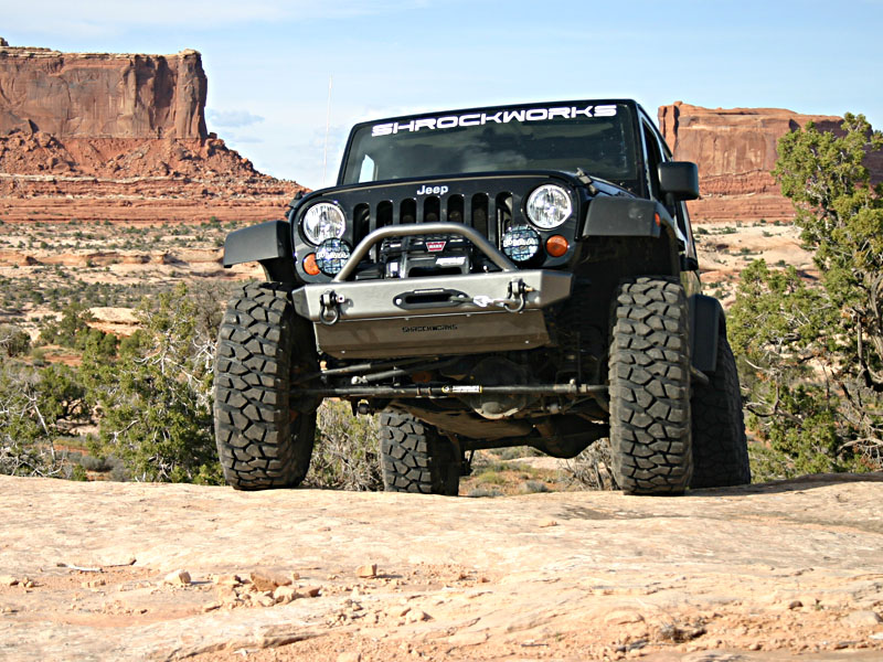 Best Bumper For Jeep Jk : Tj style shrockworks front bumper for a jk jeepforum
