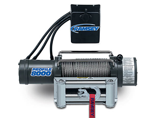 Ramsey Profile 8000 Winch